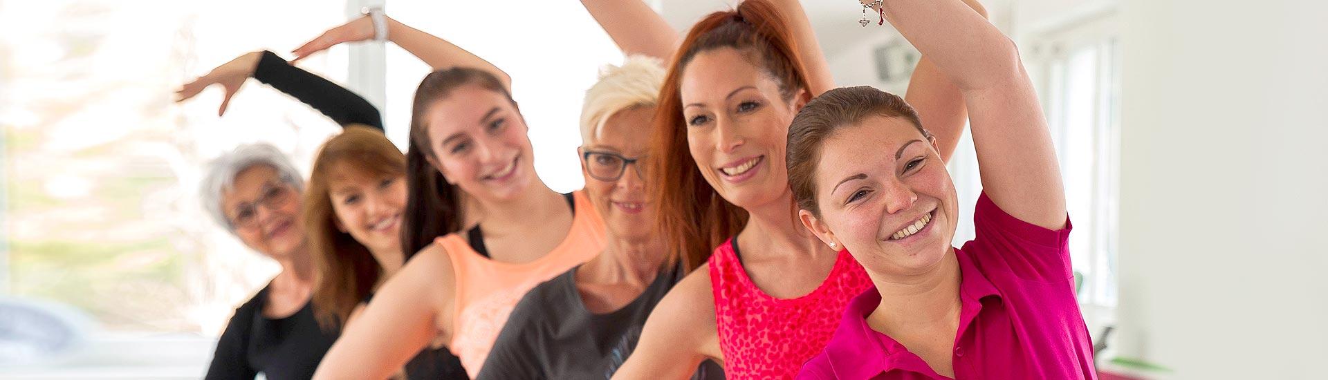 Kurse und Training für Frauen und Damen in unserem Fitnessstudio in Rosenheim und Bad Aibling